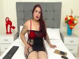 Sexy webcam show met ariadnafox
