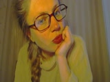 Sexy webcam show met naturalblond